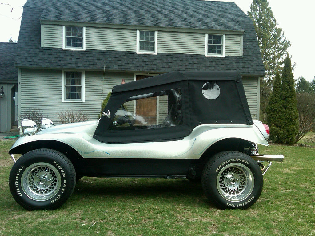 New Soft Top For Allison Dune Buggy